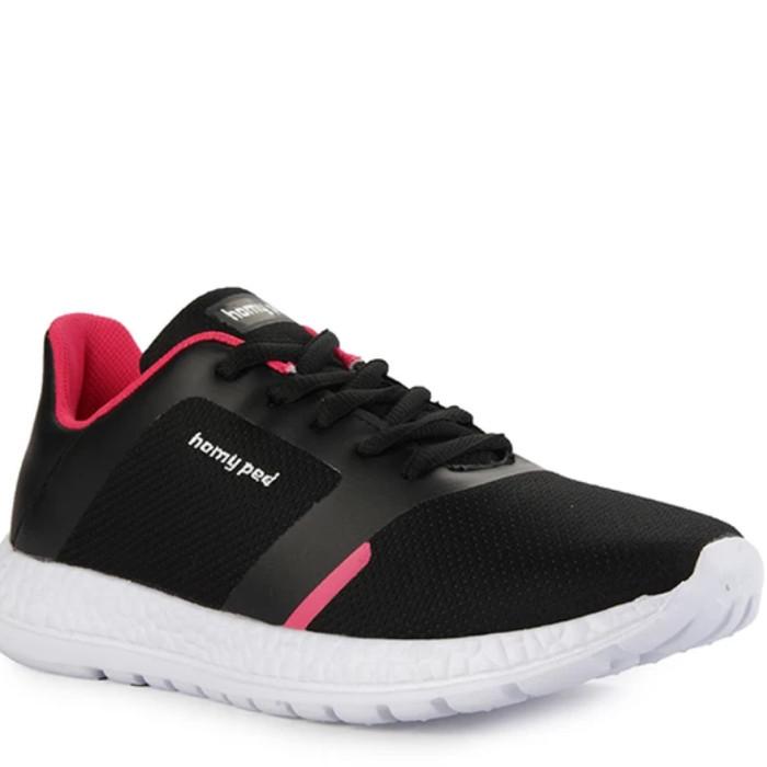 Jual Sepatu Wanita Sneakers Homyped Akami Original Terbaru Hitam