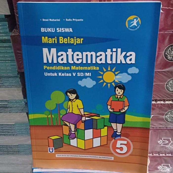 Foto Produk Buku Matematika kls 5 SD/MI dari Toko Buku Azkiya