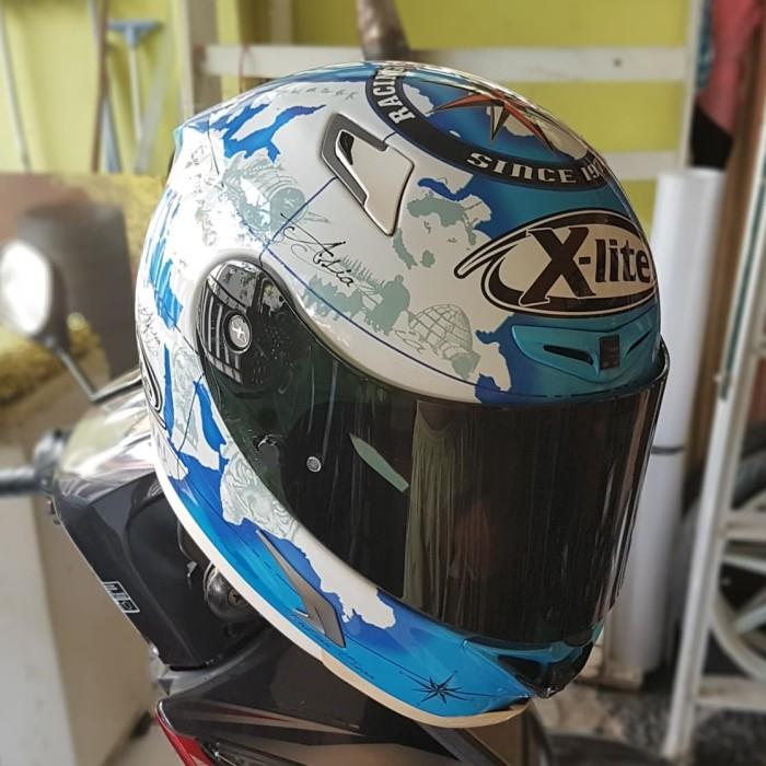 27f296f7 Jual X-lite X802R Carlos Checa Blue Size L - Kab. Bogor - Ojan ...