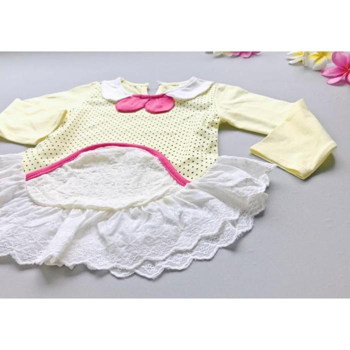 Foto Produk B4 A2 POTPURRI atasan blus bayi lengan panjang import dari lindastoree
