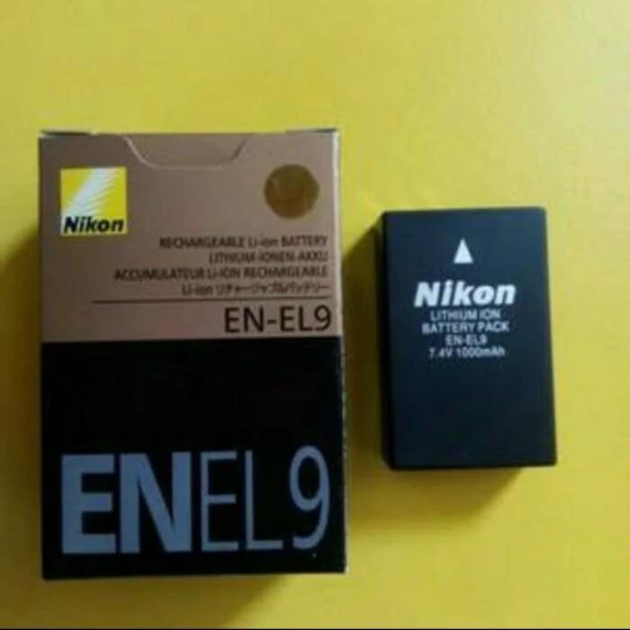 Foto Produk baterai camera Nikon D3000 batre nikon en el9 dari Dunia olsop