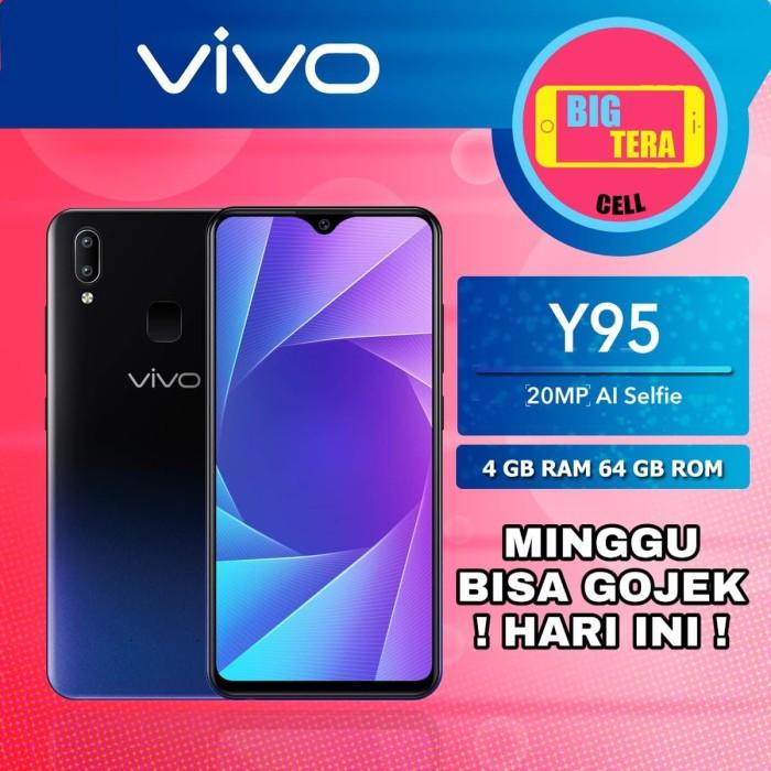 Jual Vivo Y95 Ram 4gb 64gb Hp Vivo Ram 4gb Terbaru 2018 Hitam