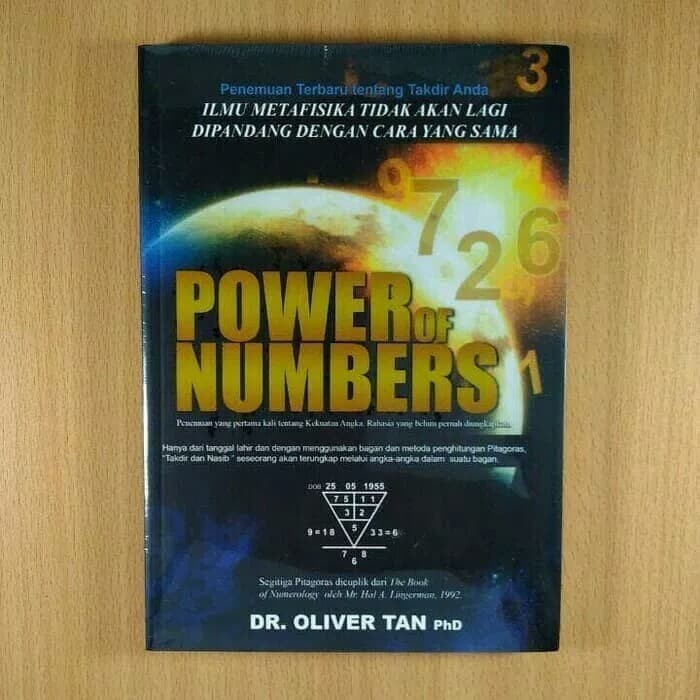 Foto Produk Buku Power of Number Oliver Tan dari Kedesport