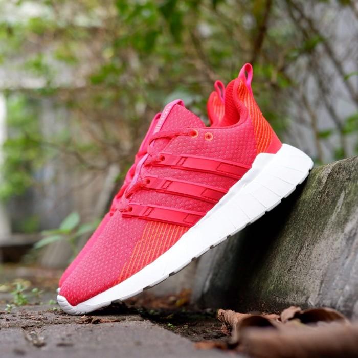 Jual Adidas Questar Flow Red / Orange