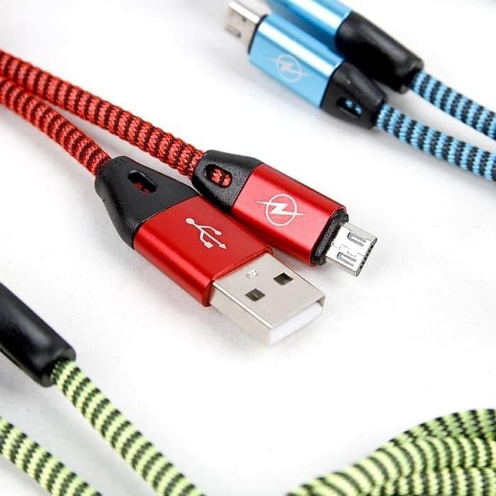 Foto Produk Unik kabel data INVIGO LINEAR MICRO USB Real 2ampere Fast ch Murah dari zona.phonee