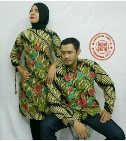 Foto Produk (+ Lapisan/Furing Halus)Set Couple Batik Keluarga - Couple Pesta - Baj dari TOKO TOP MART