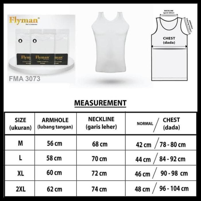 Foto Produk PROMO Flyman | Singlet Pria Dewasa | Pakaian Dalam Pria Dewasa | FMA dari ellyalawiyah37