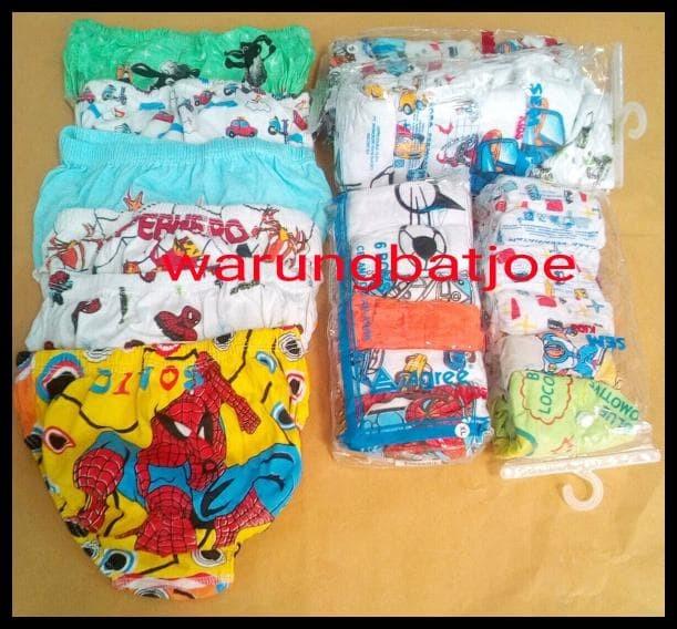 Foto Produk BERKUALITAS celana dalam anak laki karakter/cd anak cowok/pakaian dari ninakhoerunisa17