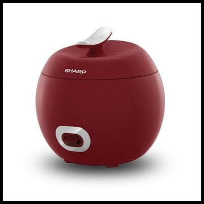 Foto Produk PROMO Sharp Rice Cooker Apple 0.8 Liter – KSP8MYWH - Merah dari rizkysetyaharta16