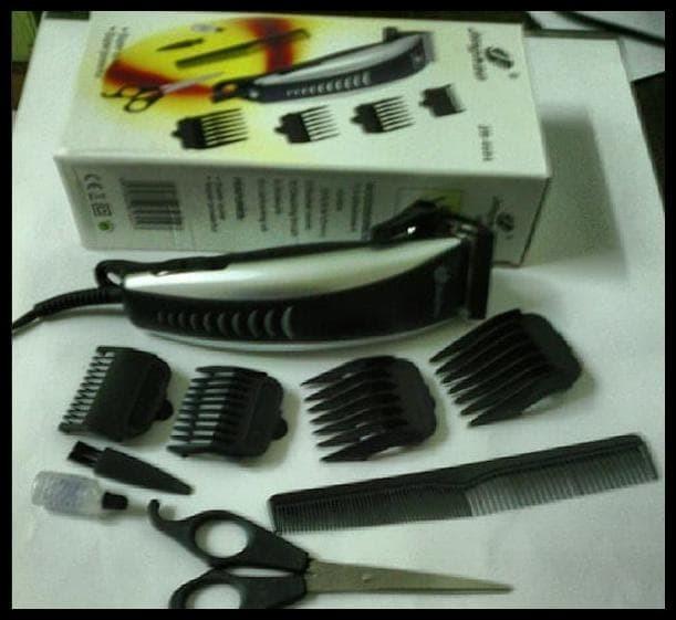 Foto Produk DISKON Mesin Alat Cukur Rambut Listrik Elektrik - Gunting Rambut dari yogadistra54