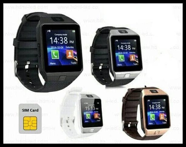 Foto Produk FREE ONGKIR Smartwatch DZ09 / U9 Smart Watch Jam Tangan HP Support SIM dari syarifahrifa98