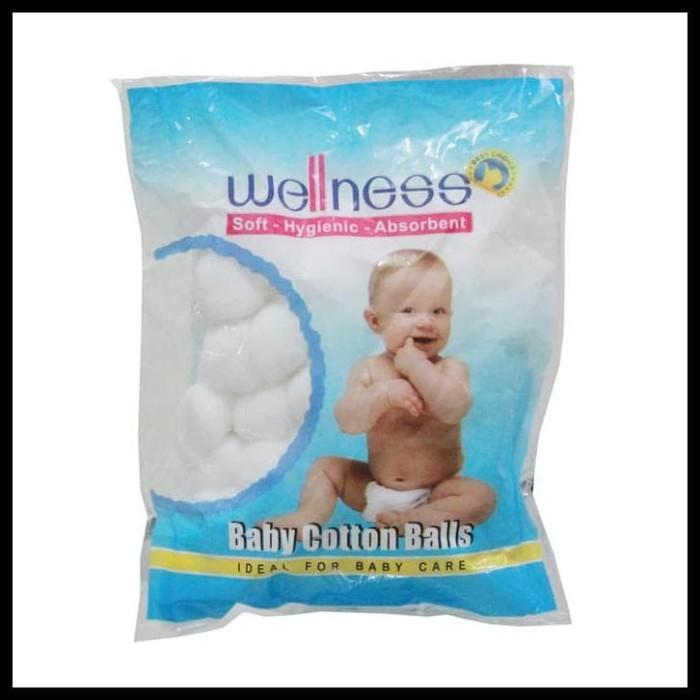 Foto Produk TERBATAS Wellness Cotton Balls / Kapas Bola isi 100pcs dari abduliman74
