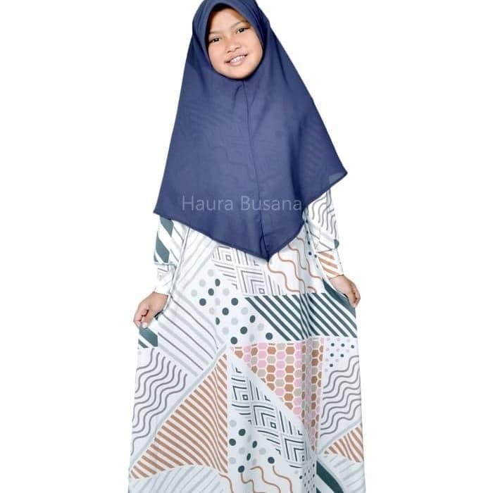 Jual baju muslim ngaji anak perempuan. gamis syari anak - Azam ... 32567eb7a7