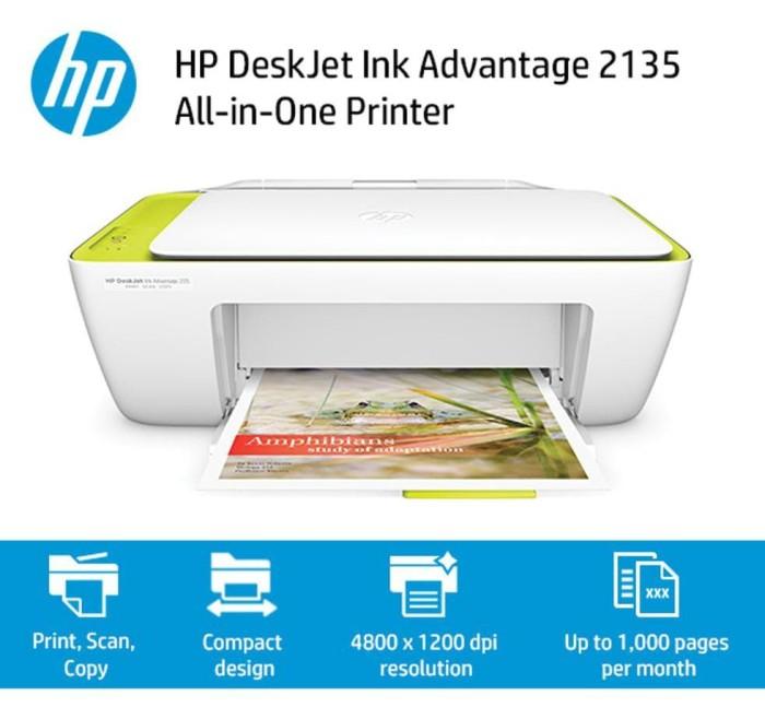 Jual Hp Deskjet 2135 All In One Print Scan Copy Kota Medan Nakamurah Tokopedia