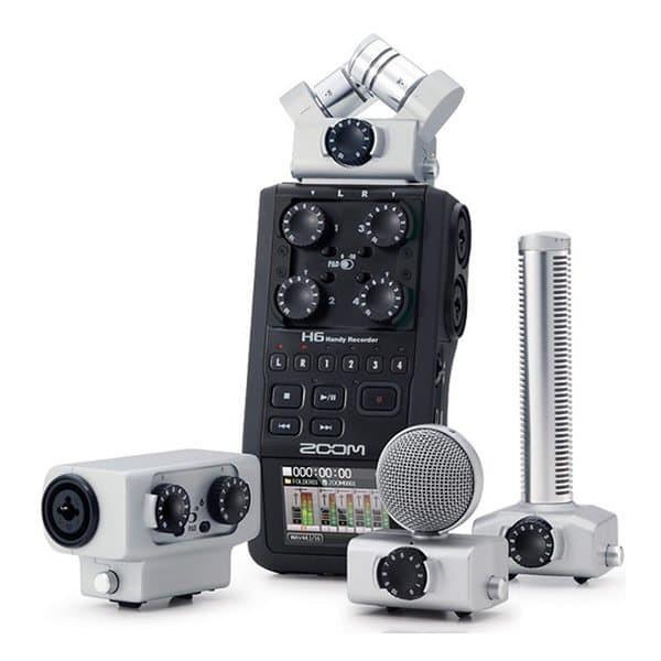 Foto Produk BIG PROMO Zoom H6 + Acc kit Handy Recorder (Garansi Resmi) dari MUTIARA MUSIK