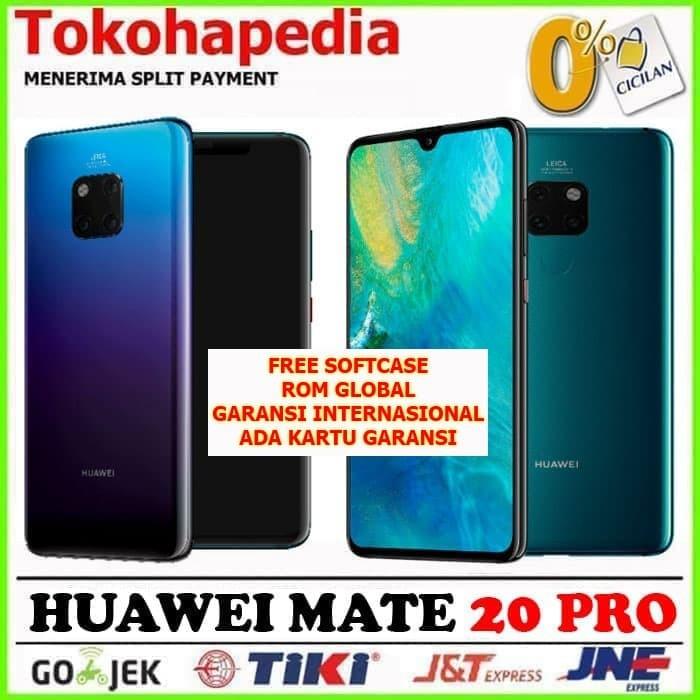 Foto Produk READY (NEW) HUAWEI MATE 20 PRO 128GB / 6GB RAM Black Twilight Emerald dari TOKO HAPE JAKARTA