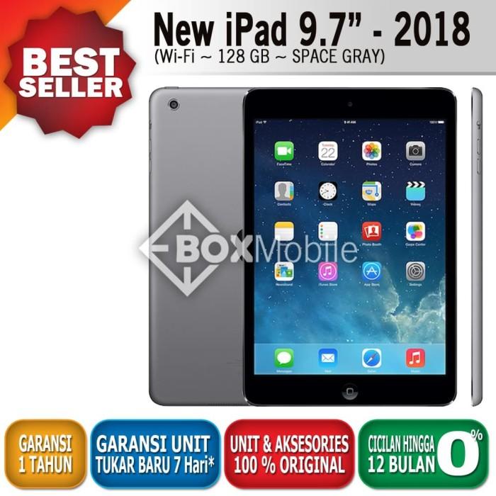 Foto Produk READY Apple iPad 9.7 inch - 2018 Wifi Only 128 GB Space Gray / Silver dari TOKO HAPE JAKARTA