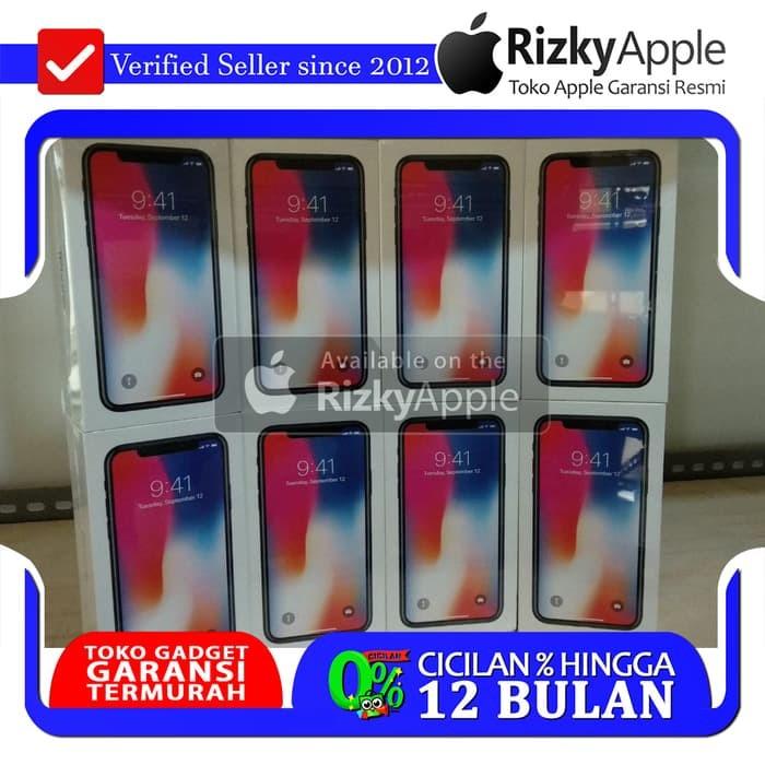 Foto Produk READY BEST SELLER iPhone 64GB X Grey / Gray ORIGINAL Garansi 1 Tahun dari toko jaya hp8