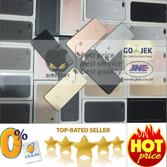 Foto Produk READY (TERMURAH) iPhone 128gb 7 Plus jet black BNIB garansi apple dari toko jaya hp8
