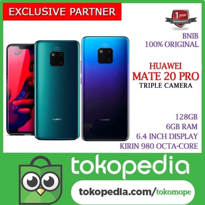Foto Produk READY Huawei Mate 20 Pro 128GB Garansi Resmi Huawei Internasional dari toko jaya hp8