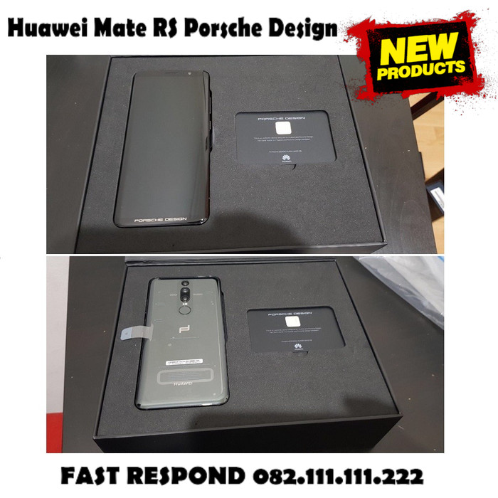 Foto Produk READY READY STOCK !! Huawei Mate RS Porsche Design 6/256gb Black COD dari toko jaya hp8