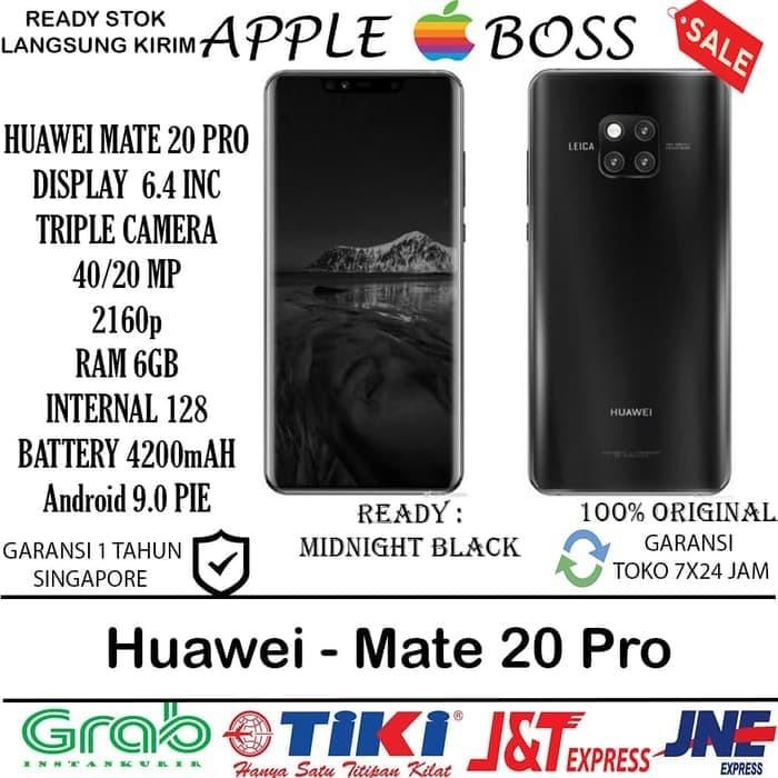 Foto Produk READY HUAWEI - Mate 20 Pro : 6GB/128GB All Colors dari toko jaya hp8