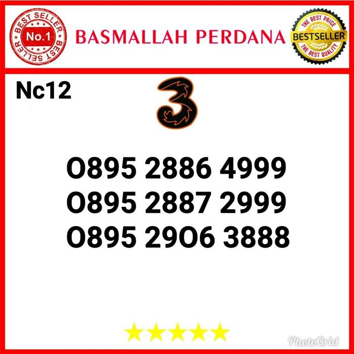 Foto Produk Nomor Cantik Three Seri Triple 888 0895 2886 4999 Nc12 dari basmallah cell