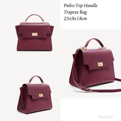 harga Tas import murah pedro top handle trapeze bag Tokopedia.com