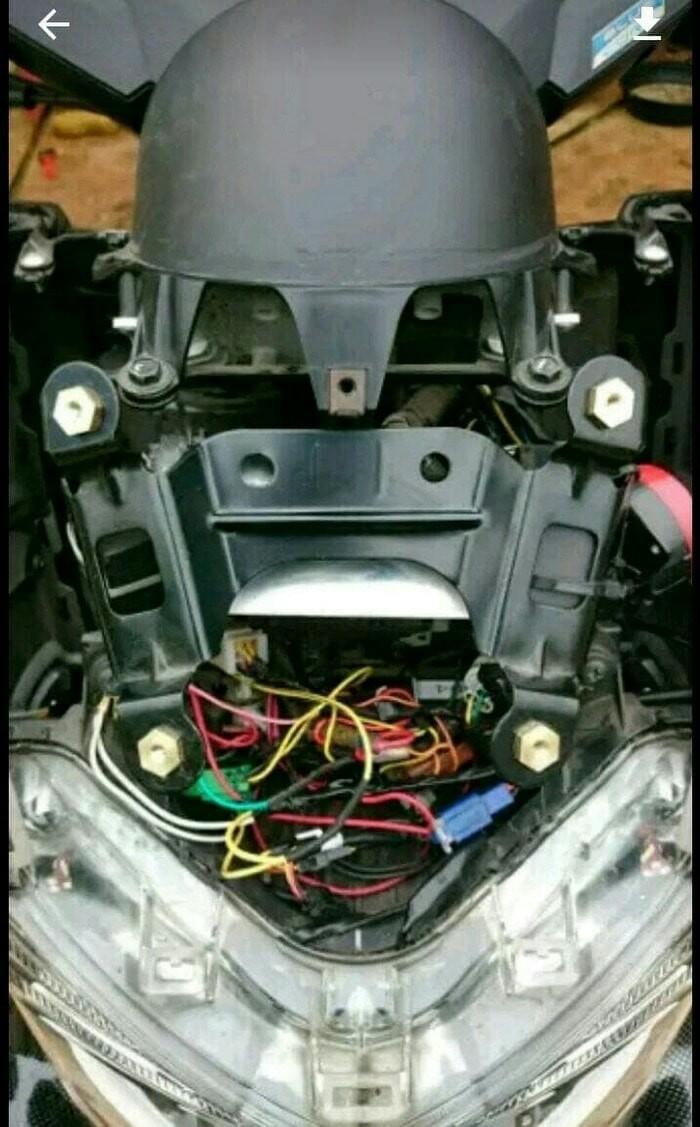 Jual Wellnut Baut Mur Visor Windshield Anti Jebol Yamaha N Max Karet