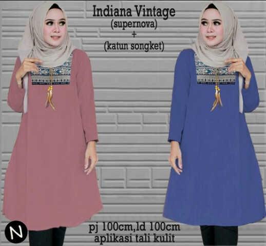 harga Xl jumbo bigsize long blouse baju atasan batik wanita muslimah blus Tokopedia.com