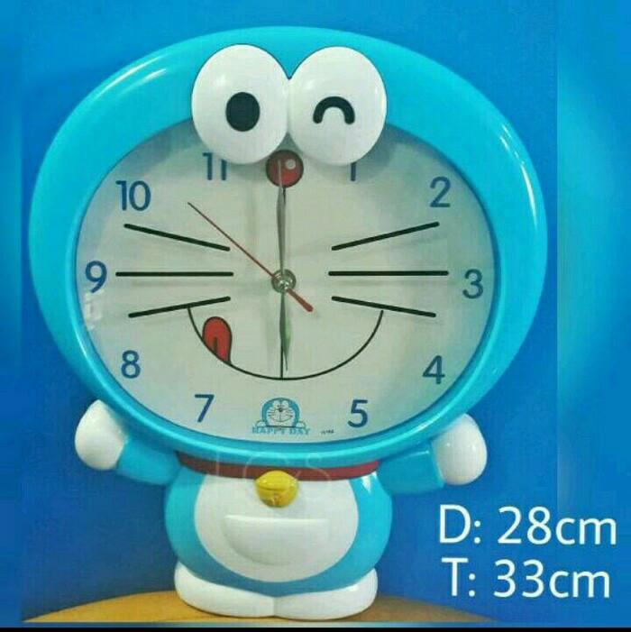 Jual Jam Dinding Body Tubuh Karakter Dora Emon Doraemon Lucu Kab Cianjur Sister Olshopapaajaada Tokopedia