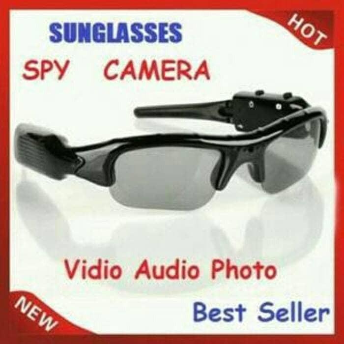 Kacamata kamera   Spy sunglasses - kacamata kamera pengintai - spy cam 6870c6bdf8