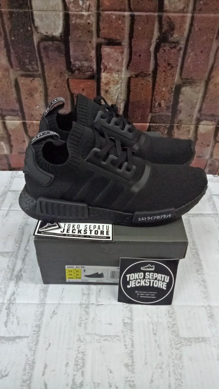 harga Sepatu adidas nmd r1 pk triple black japan unauthorized authentic (ua) Tokopedia.com