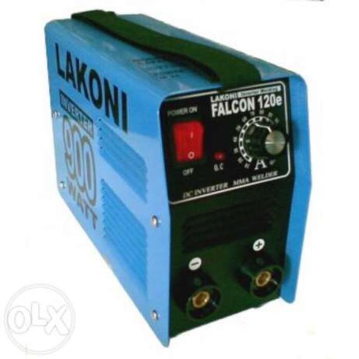 Foto Produk GOSEND Falcon 120E Mesin Travo Las Inverter Mesin Las Portable dari GT Hardware