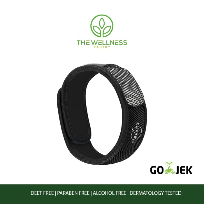 Kesehatan:Parakito - Mosquito Repellent Wristband ( Black ) 12975148 9794b498 Acec 42f8 B942 93f72413df43 979 979.jpg