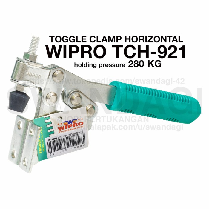 harga Clamp toggle clamp (tch-921) wipro Tokopedia.com