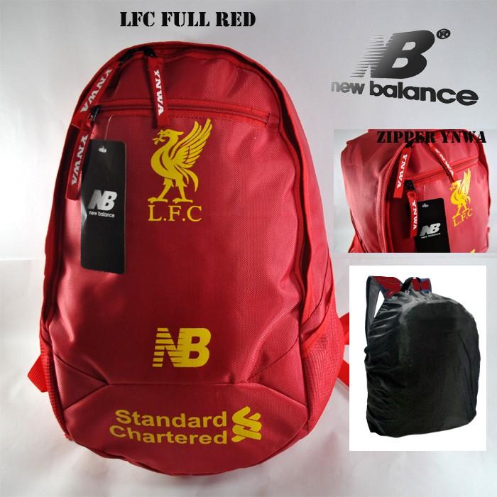 048e2172bef Jual Tas Ransel Backpack LIVERPOOL Red - FREE RAINCOVER - Kota ...