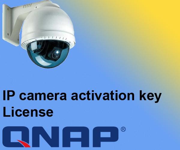Jual QNAP IP CAM LICENSE LIC-CAM-NAS-1CH - Kota Bandung - Precision |  Tokopedia