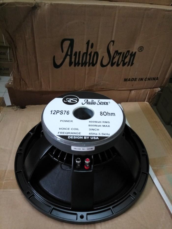 harga Speaker audioseven 12ps76 original high quality ( model bnc ) array Tokopedia.com