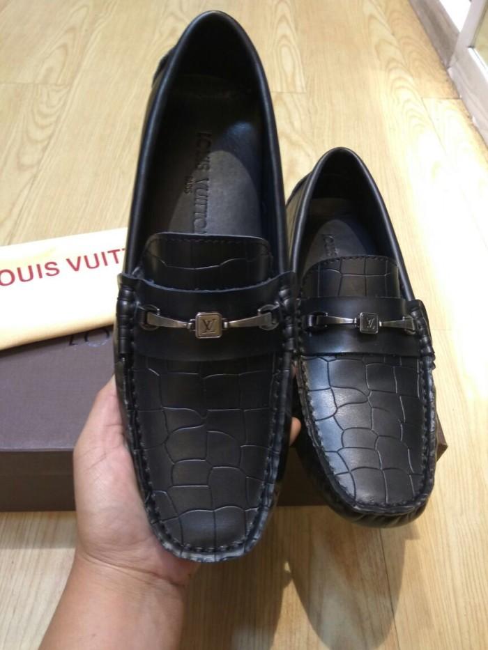 505eeb63c67 Sepatu loafers louis vuitton mirro quality harga Sepatu loafers louis  vuitton mirro quality Tokopedia.com