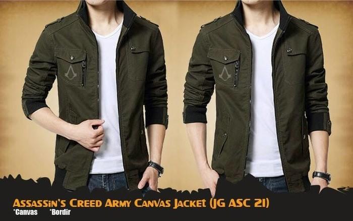 harga Jaket game assassins creed army jacket (jg asc 21) Tokopedia.com