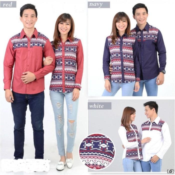 harga Rami motif - kemeja couple/ batik couple/ baju pasangan/ couple Tokopedia.com