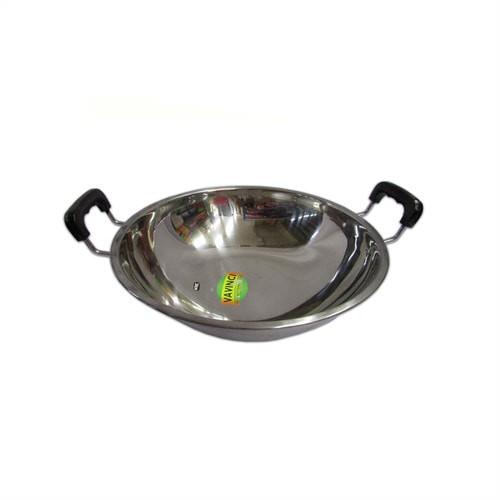 Wajan stainless vavinci 38 cm / penggorengan vavinci / alat masak