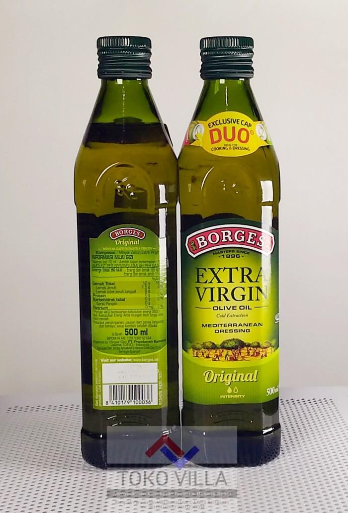 Minyak Zaitun BORGES Extra Virgin Olive Oil 500 ml - BORGES 500ml