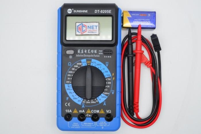 harga Tools multi tester / multitester digital sunshine dt-9205e / dt9205e Tokopedia.com