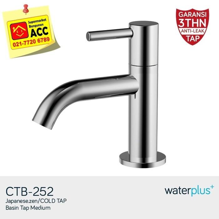 harga Waterplus ctb-252 kran wastafel medium Tokopedia.com