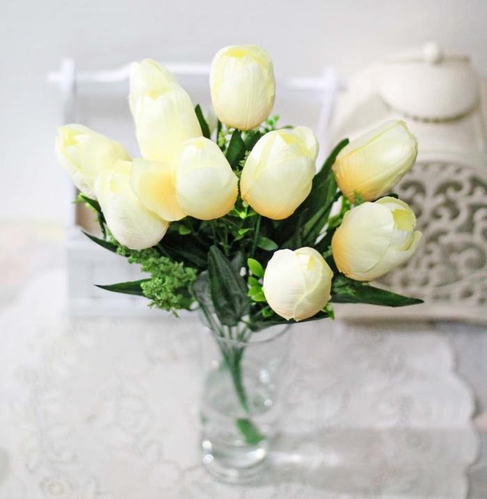 Jual bunga plastik hias artifisial hias tulip shabby chic BESAR A1-6 ... 207ca471a7