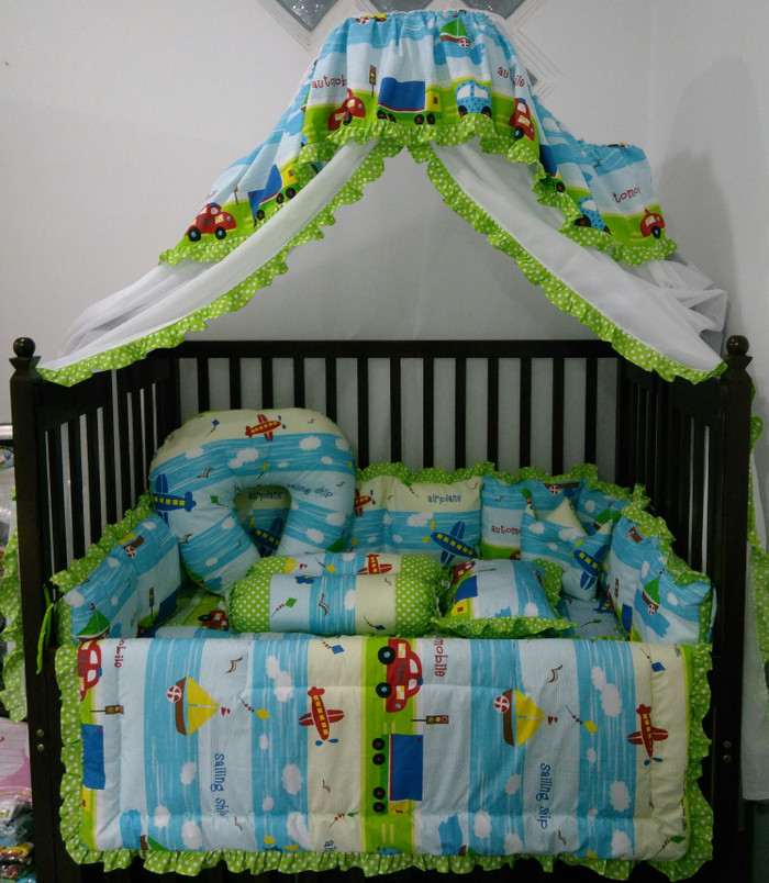 harga Bumper box bayi set kelambu + bantal menyusui Tokopedia.com