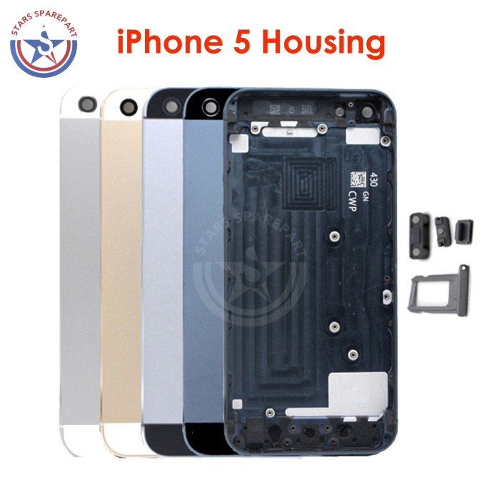 ... harga Iphone 5   5s housing casing 5g   5s kesing backdoor fullset  Tokopedia.com 695ff347e1