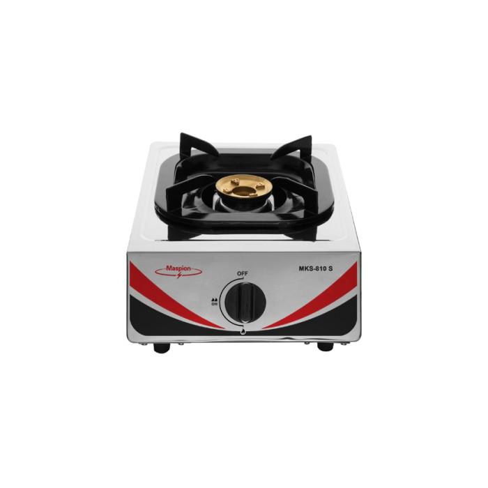 harga Maspion kompor gas 1 tungku / single burner lpg mks-810s - putih Tokopedia.com